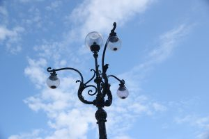The Dome Of The Sky Lamp Post Air